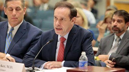 Howard A. Zucker, MD, JD, Commissioner, New York