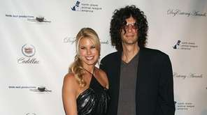 Beth Ostrosky, Howard Stern and their dog Bianca