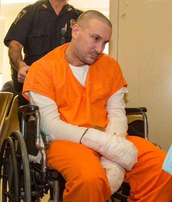 Robert Crumb, 44, of Bethpage, pleaded not guilty