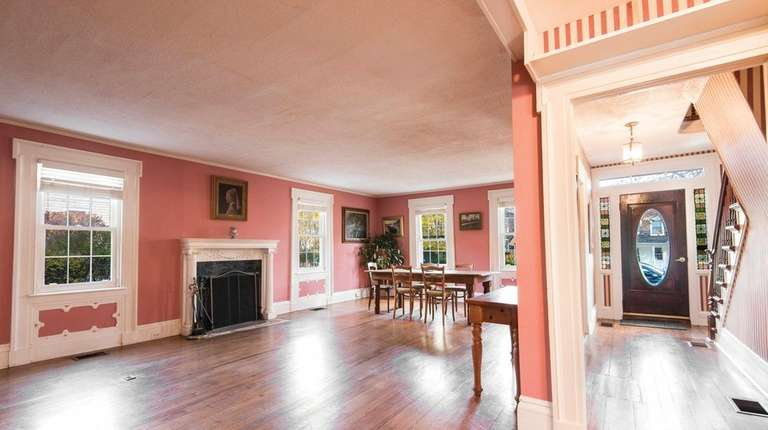 An historic Sag Harbor captain's home rumored to