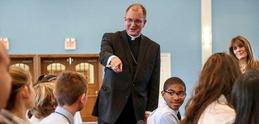 Bishop John O. Barres, who will become bishop