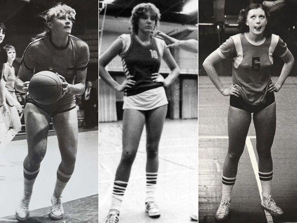 From left, Zita Kuzminskas, mother of Knicks player