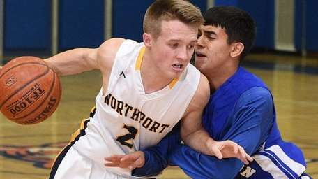 Northport guard Kevin Cryer-Hassett (16 points, five assists,
