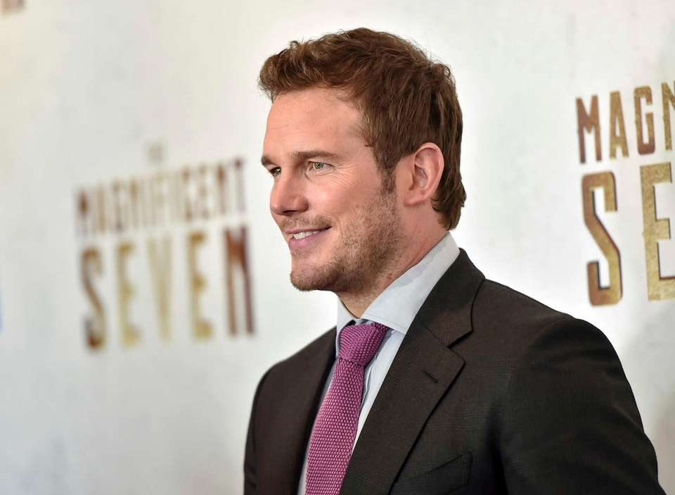 Chris Pratt managed to make the list for