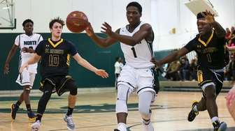 Taliq Abdul-Rahim of Valley Stream North drives to