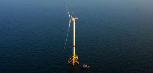 The Alstom turbine that Deepwater Wind is using