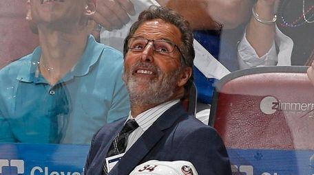 Head coach John Tortorella of the Columbus Blue