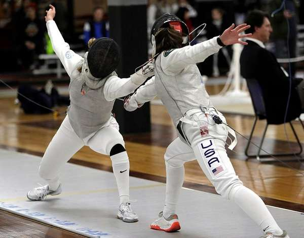 Cadet World Champion Silvie Binder of Westchester Fencing