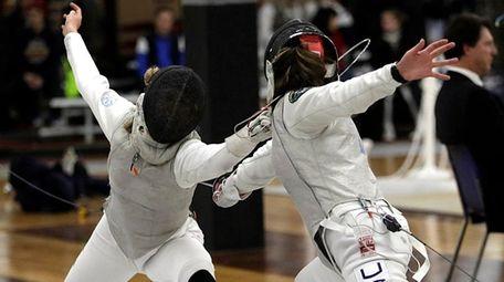 Cadet World Champion Silvie Binder of Westchester Fencing