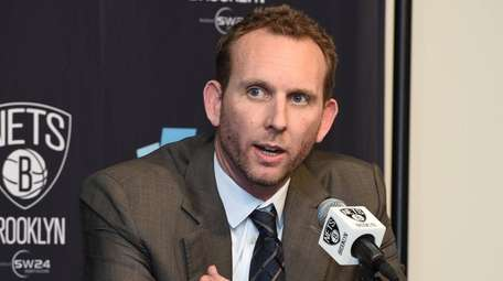The Brooklyn Nets new general manager Sean Marks