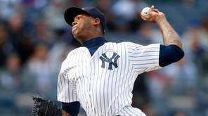 Aroldis Chapman #54 of the New York Yankees