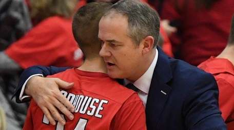 Former Stony Brook head coach and current Rutgers