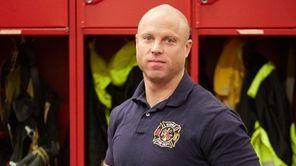Daniel DeMeo, a Ridge volunteer firefighter, was honored