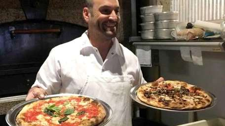 Jerry Miele, co-owner of Milan's Brick Oven Pizza