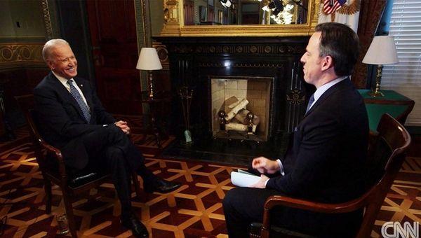 Vice President Joe Biden left the door open
