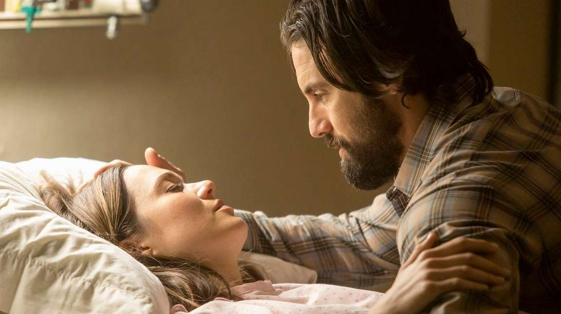 Actors Mandy Moore and Milo Ventimiglia star in