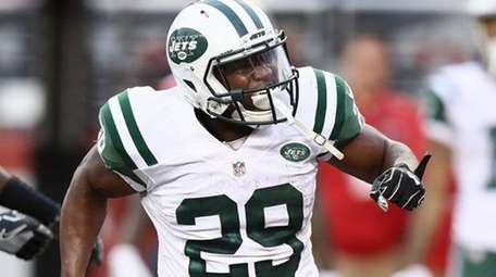 Bilal Powell #29 of the New York Jets