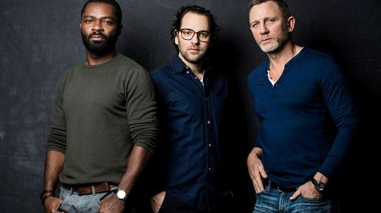 Sam Gold, center, directs David Oyelowo, left, and