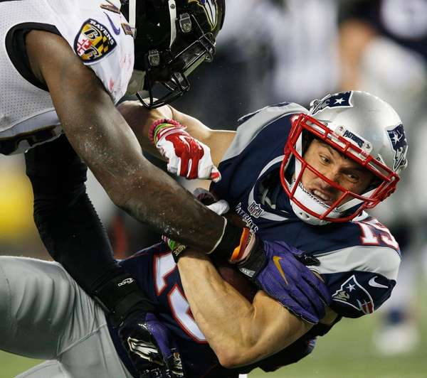 New England Patriots wide receiver Chris Hogan is
