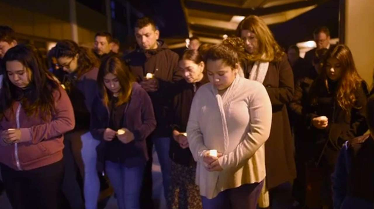 Nearly 50 people gathered for a vigil held