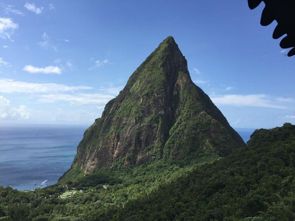 St. Lucia piton, dec. 2016