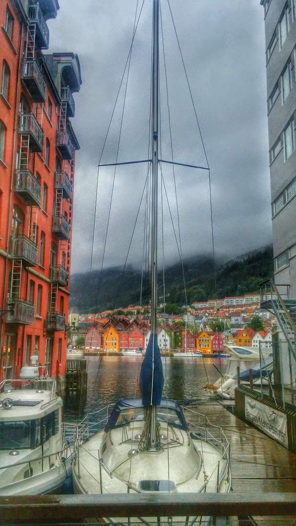 My husbaand and I were touring Bergen, this