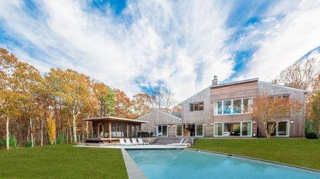 This Wainscott estate was designed by Sagaponack-based architect