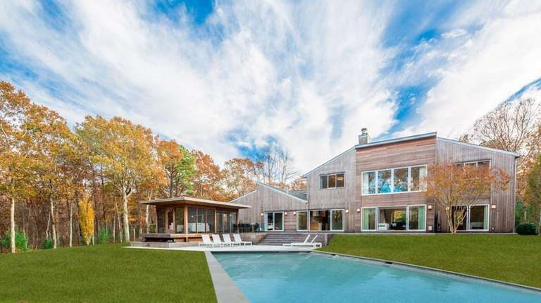 This Wainscott estate was designed by Sagaponack-based architect