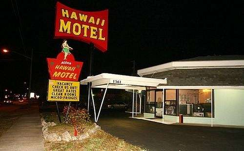 George Anthony was found at the Hawaii Motel