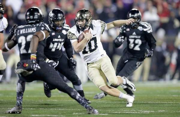 John Wolford of the Wake Forest Deamon Deacons