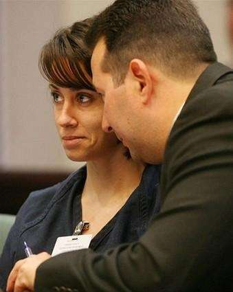 Casey Anthony (left) and her attorney Jose Baez