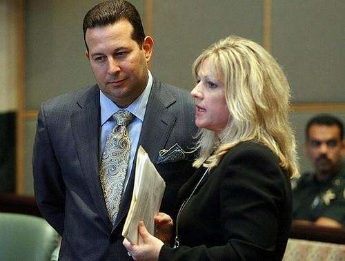 Jose Baez, (left) attorney for Casey Anthony, and