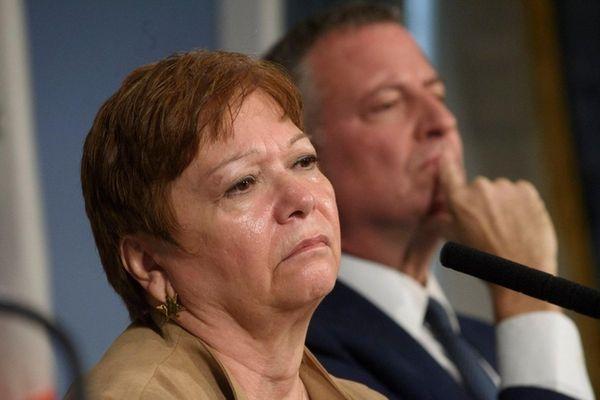 Administration for Children's Services Commissioner Gladys Carrion, left,