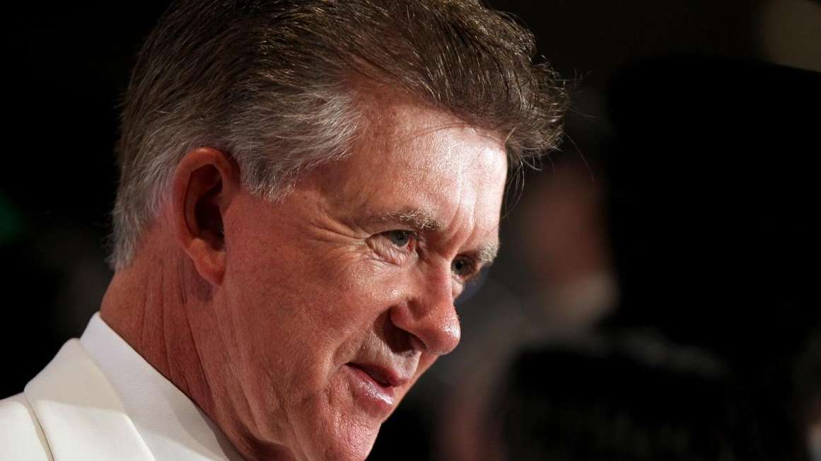 Alan Thicke, best known as the patriach on