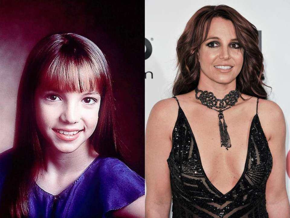 Britney Spears, at age 11, as a member