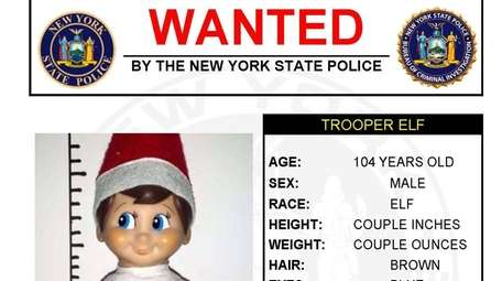 The New York State Police Facebook page posted