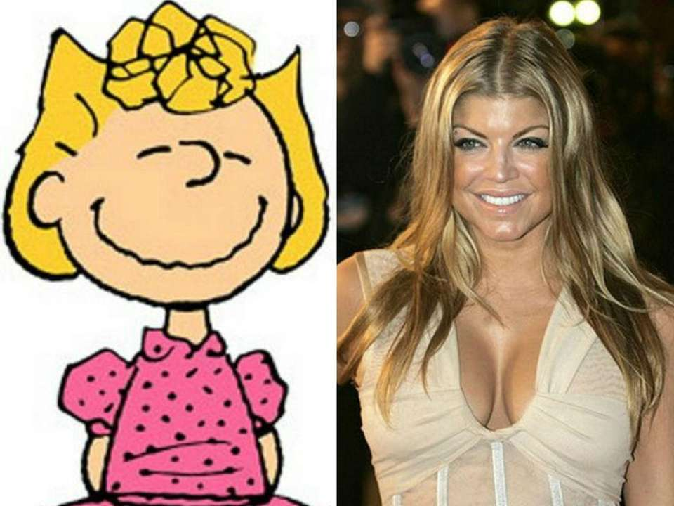 As a child, pop singer Fergie, or Stacy