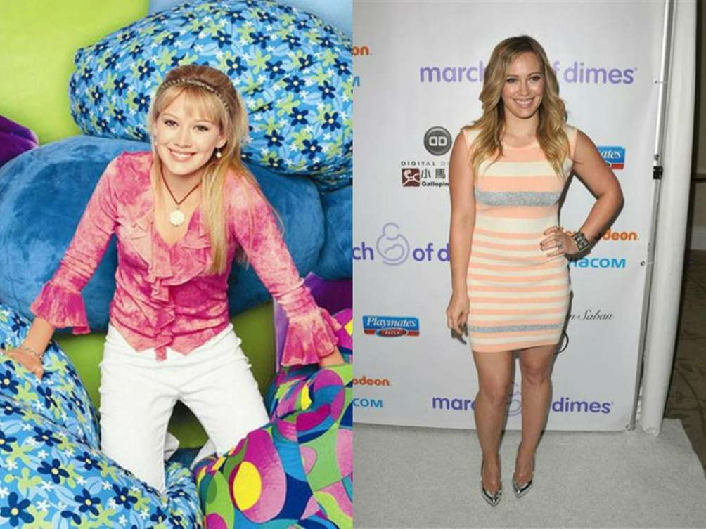 Hilary Duff of the Disney Channel television show