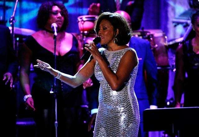 The late Whitney Houston (1963-2012), also one of