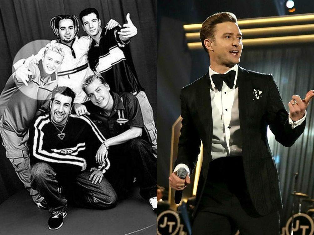 Justin Timberlake in his 'N Sync days, circa
