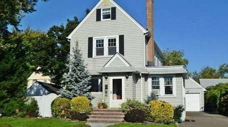 This Malverne Colonial, listed for $449,000 in December