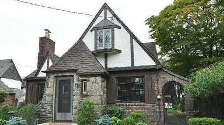 This Malverne Tudor, listed for $649,000 in December