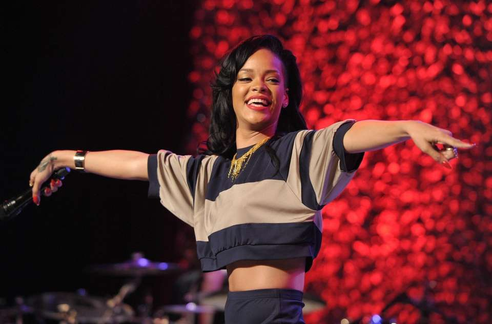 A winner of eight Grammy Awards, Rihanna is