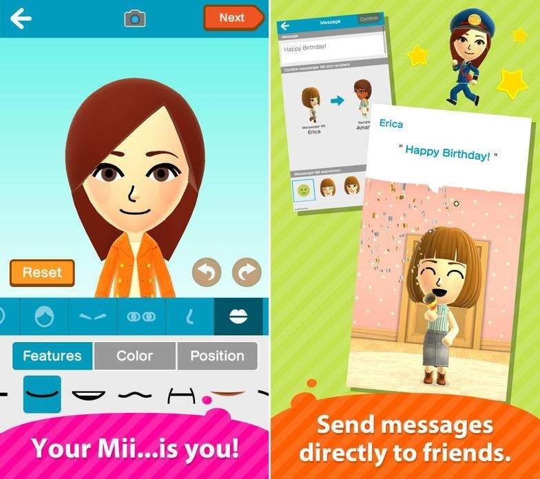 Miitomo was recently named Top Trending App, which