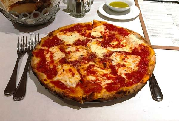 Margherita is one of the eight pizzas on