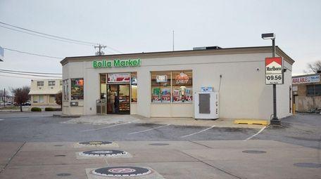 A Mobil gast station at 1201 Sunrise Highway,