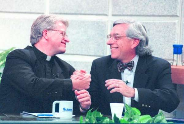 Msgr. Thomas Hartman and Rabbi Marc Gellman teamed