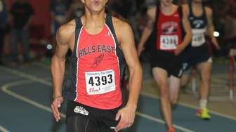 Half Hollow Hills East's Jared Trefny wins the