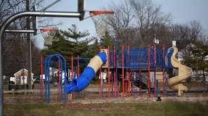 Roberto Clemente Park in Brentwood is seen on
