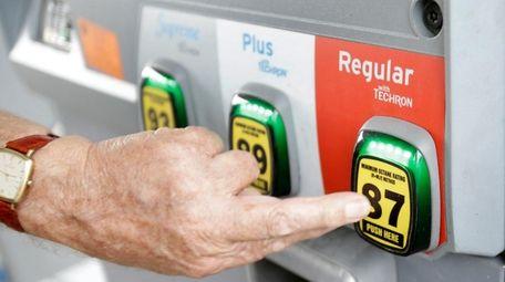 Gas prices in the New York metropolitan area